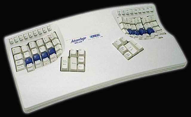 Photograph of Kinesis Contour Keyboard